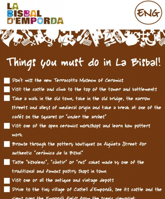 Things you must do in La Bisbal